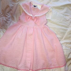 """GOODLAD"" Pink Gingham Sundress"